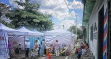 MSF facilita o acesso a cuidados de saúde em San Salvador e Soyapango