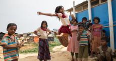 Cuidando da saúde mental em meio à crise dos refugiados rohingyas
