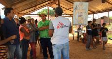 MSF ajuda a reconstruir instalações médicas e atender às necessidades de saúde na Venezuela