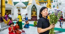 Ma Khin Myo Lwin é supervisora da equipe de enfermagem de MSF na clínica Insein, em Mianmar.