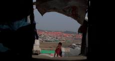 Bangladesh: condições precárias do acampamento Jamtoli