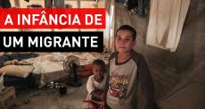 A vida de um migrante pelo olhar de uma criança