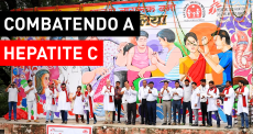 Luta contra a hepatite C na Índia