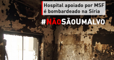 Síria: hospital apoiado por MSF é fechado após ataques aéreos