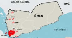 """TAIZ, IÊMEN: """"Em um dia normal, ouvimos cerca de 5 explosões por minuto - Taiz está em guerra."""""""