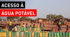 Distribuição de água em Burkina Faso