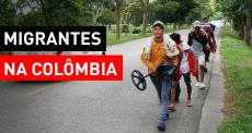 Venezuelanos enfrentam necessidades na Colômbia