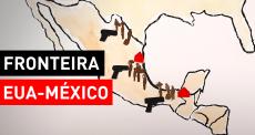 O que acontece na fronteira México-EUA?