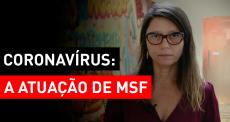 Coronavírus:  a atuação de MSF