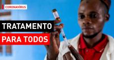 O tratamento contra à COVID-19 tem de ser acessível
