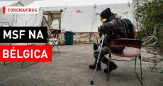 COVID-19: assistência para migrantes na Bélgica
