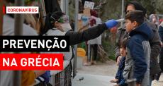 Grécia | MSF contra a COVID-19 em Lesbos