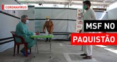 COVID-19: diagnóstico em Timergara, no Paquistão