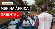 Novo coronavírus na África Oriental