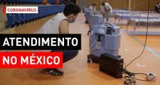 Centro de tratamento de COVID-19 no México
