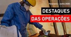 Destaques da atuação de MSF - Fevereiro/junho 2020