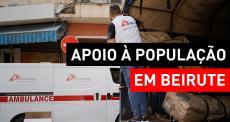 MSF apoia população de Beirute