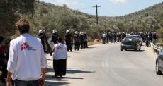 MSF condena ataques violentos em Moria, na Grécia