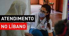 MSF realiza atendimentos nas casas em Beirute