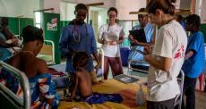Guiné-Bissau: assistência a crianças em Bafatá