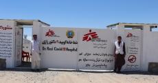 Afeganistão: MSF abre centro de tratamento de COVID-19 em Herat