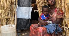 Hamdayet, Sudão: fome e cansaço extremo entre refugiados
