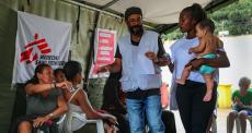 MSF dá assistência a refugiados e migrantes venezuelanos em Roraima