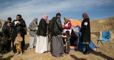 Clínica móvel em Kirkuk