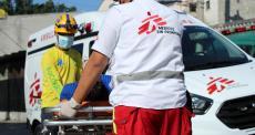 MSF realiza serviço de ambulância em Ilopango, El Salvador