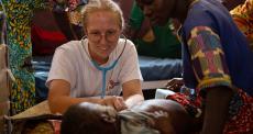 Médica de MSF relata as dificuldades de combater surto de sarampo na RCA