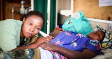 A diferença entre vida e morte: parto dramático na República Democrática do Congo