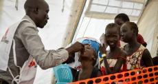 Sudão do Sul: MSF vacina população em alto risco contra a cólera em Juba