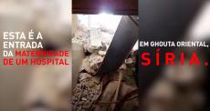 Ghouta Oriental, Síria: dentro de uma maternidade destruída