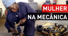 Uma mulher na mecânica de MSF