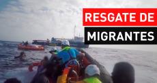 Ajuda humanitária no mar