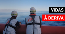 Vidas negligenciadas no Mediterrâneo