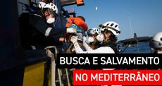 MSF retoma suas operações de busca e salvamento no mar Mediterrâneo