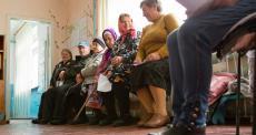 """Ucrânia: """"Seu universo inteiro desmorona"""""""