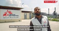 Hospital de cuidados pós-operatórios de MSF em Mossul