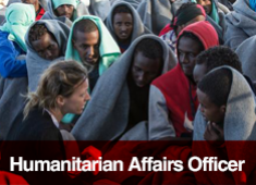Humanitarian Affairs Officer