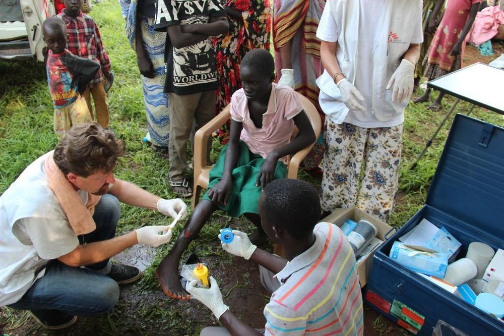 Sudão do Sul: mais de 2.700 pessoas tratadas por MSF em Juba