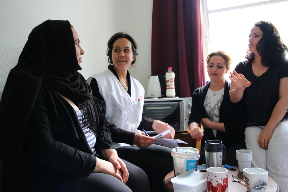 MSF começa a trabalhar com solicitantes de asilo na Suécia