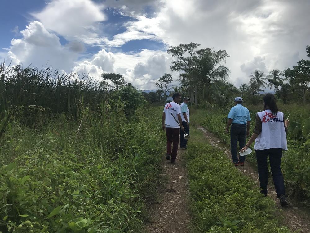MSF contribui no combate à malária na Venezuela e apoia infraestruturas de saúde de Sucre
