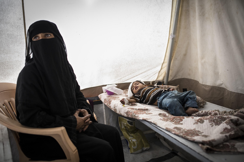 Surto de cólera no Iêmen
